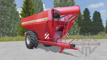 Horsch Titan 34 UW deep carmine pink for Farming Simulator 2015