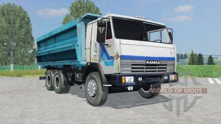 KamAZ-45143 white color for Farming Simulator 2015