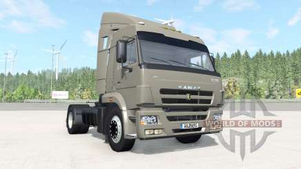 KamAZ-5460 dark grayish-orange color for BeamNG Drive