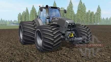 Deutz-Fahr 7250 TTV Agrotron The Beast Black for Farming Simulator 2017