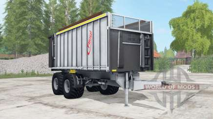Fliegl TMK 266 Bull light gray for Farming Simulator 2017