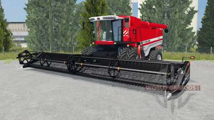 Massey Ferguson 9895 light brilliant red for Farming Simulator 2015
