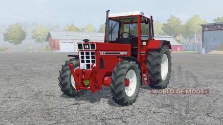 International 1255 XL spartan crimson for Farming Simulator 2013
