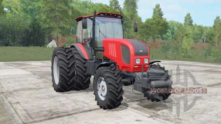 MTZ-Belarus 1822.3 bright red color for Farming Simulator 2017