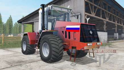 Kirovets K-744R3 red color for Farming Simulator 2017