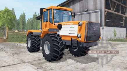Slobozhanets HTA-220V bright orange color for Farming Simulator 2017