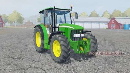 John Deere 5100R manual ignition for Farming Simulator 2013