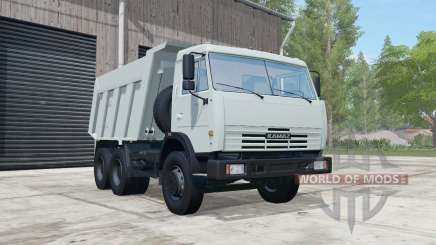 KamAZ-65115 light grayish-blue color for Farming Simulator 2017