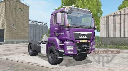 MAN TGS 18.480 razzmic berry for Farming Simulator 2017