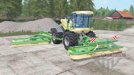 Krone BiG M 500 chateau green for Farming Simulator 2017