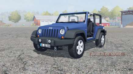 Jeep Wrangler (JK) san marino for Farming Simulator 2013