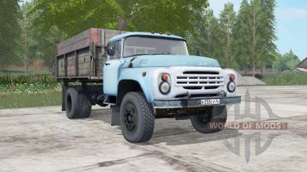 ZIL-MMZ-554 soft-blue color for Farming Simulator 2017