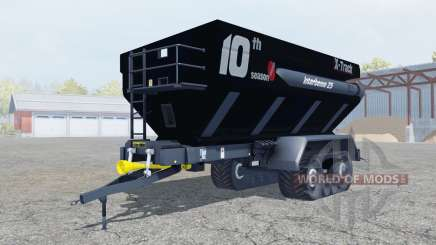 Perard Interbenne 25 X-Track rich black for Farming Simulator 2013