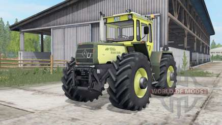 Mercedes-Benz Trac 1300-1500 full lights system for Farming Simulator 2017