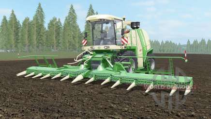 Krone BiG X 1100 light cream for Farming Simulator 2017