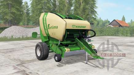 Krone Fortima V 1500 pantone green for Farming Simulator 2017