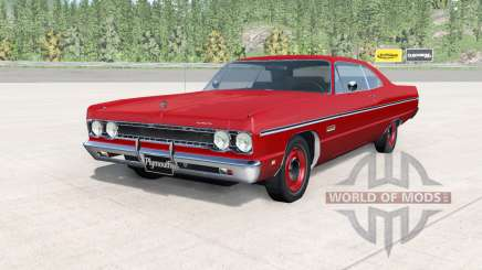 Plymouth Fury lll coupe 1969 v2.0 for BeamNG Drive