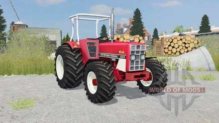 International 633 4WD front loader for Farming Simulator 2015