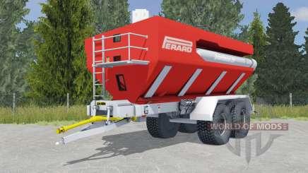 Perard Interbenne 25 light brilliant red for Farming Simulator 2015