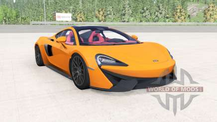 McLaren 570GT 2017 mikado yellow for BeamNG Drive