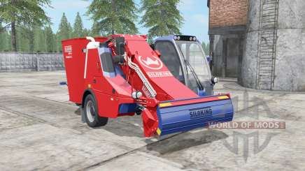 Siloking SelfLine Compact 1612 pigment red for Farming Simulator 2017