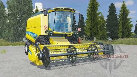 New Holland TC4.90 pantone yellow for Farming Simulator 2015