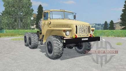 Ural-4420 French beige color for Farming Simulator 2015