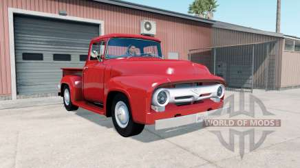 Ford F-100 Custom Cab 1956 for American Truck Simulator