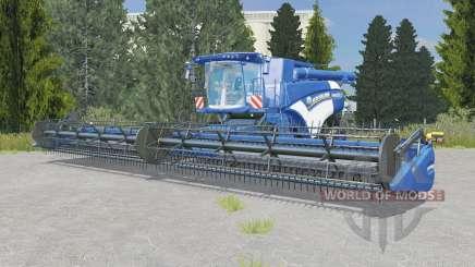 New Holland CR10.90 ocean boat blue for Farming Simulator 2015