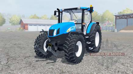 New Holland T6030 manual ignition for Farming Simulator 2013