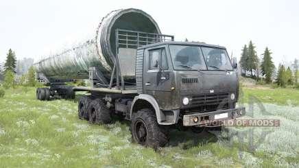 KamAZ-4310 dark grey for MudRunner