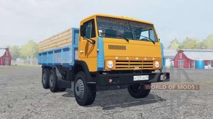 KamAZ-55102 bright orange color for Farming Simulator 2013