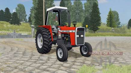 Massey Ferguson 265 ferrari red for Farming Simulator 2015