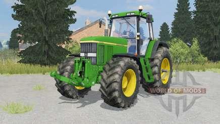 John Deere 7810 islamic green for Farming Simulator 2015