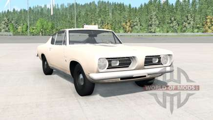 Plymouth Barracuda (BH29) 1968 for BeamNG Drive