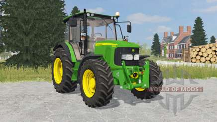 John Deere 5080M islamic green for Farming Simulator 2015
