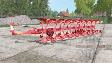 Lemken Diamant 12 red edition for Farming Simulator 2017