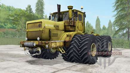 Kirovets K-700A options wheels for Farming Simulator 2017
