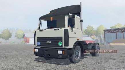 MAZ-5432 grayish-green color for Farming Simulator 2013