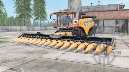 New Holland CR10.90 pastel orange for Farming Simulator 2017