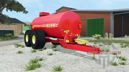Nuhn Mugnum 5000 light brilliant red for Farming Simulator 2015