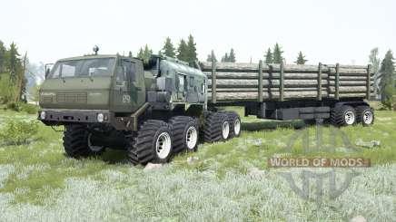 KrAZ-7E-6316 Siberia for MudRunner