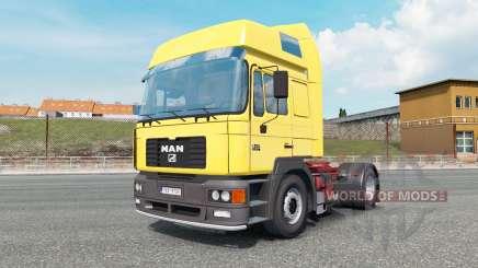 MAN F2000 19.414 gargoyle gas for Euro Truck Simulator 2