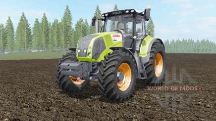 Claas Axion 810-850 acid green for Farming Simulator 2017