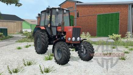MTZ-82.1 Belarus aka-red color for Farming Simulator 2015