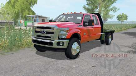 Ford F-350 ᶂlatbed for Farming Simulator 2017