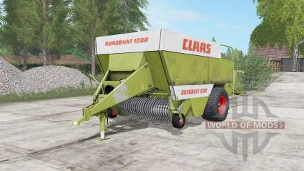 Claas Quadranƫ 1200 for Farming Simulator 2017