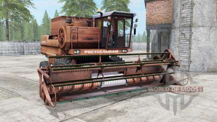 Don-1500 brown yellow color for Farming Simulator 2017
