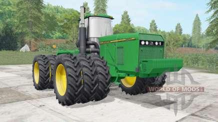 John Deere 8960&8970 wheels selection for Farming Simulator 2017