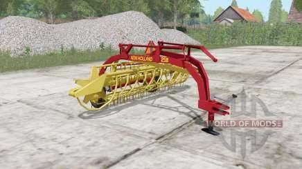 New Holland Rolabar 258 for Farming Simulator 2017